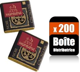 200 Napolitains chocolat (Boîte distributrice) - Monbana