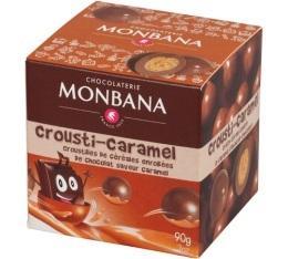Crousti-Caramel Boîte snacking 90g Monbana
