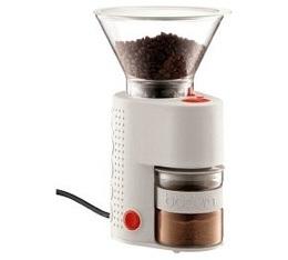 Moulin à café électrique Bistro BODUM Blanc