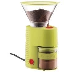 Moulin � caf� �lectrique Bistro BODUM vert