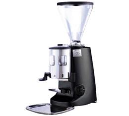 Moulin � caf� Mazzer Super Jolly noir avec doseur / arr�t  manuel