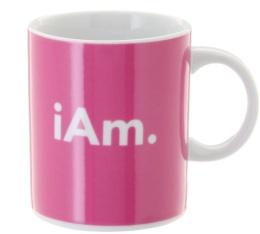 Mug classique rose iAm 35 cl - Café Compagnie