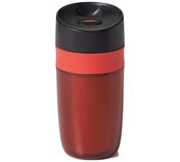 Mug isotherme rouge double paroi Oxo - 30cl