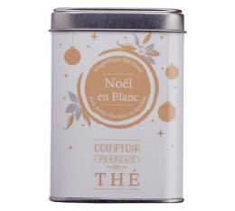 Boite th� vrac 'No�l en Blanc' - Comptoir Fran�ais du Th� - 40g