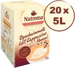 20 BIB de lait Nutroma Cappuccino de 5L (=100L)