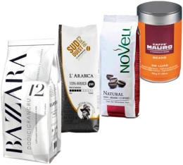 Pack Coup de Coeur Client (Exclusivit� MaxiCoffee) : 4 caf�s en grains x 250g