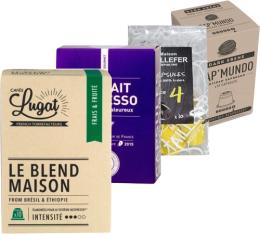 Pack Torréfaction Artisanale (Exclusivité MaxiCoffee) : 40 capsules pour Nespresso
