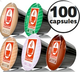 Pack d�couverte - 100 capsules Dolce Gusto� compatibles