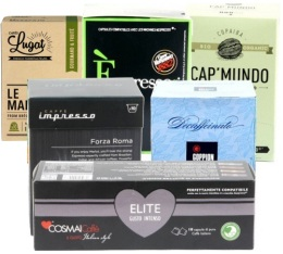 S�lection d�couverte 60 capsules compatibles Nespresso