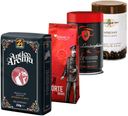 Pack Italien (Exclusivit� MaxiCoffee) : 4 caf�s en grains x 250g