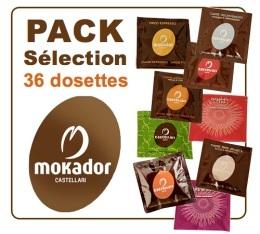 Sélection Mokador Castellari de 36 dosettes ESE d'exception