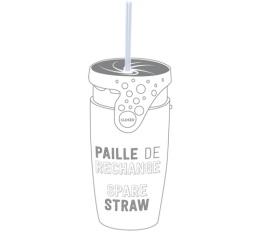 Paille de rechange pour mug Twizz by Neolid