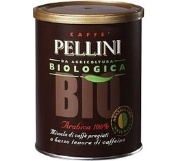 Café moulu Pellini Bio 100 % Arabica 250g