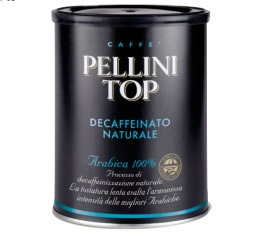 Caf� moulu Pellini Top d�caf�in� 100% Arabica 250g