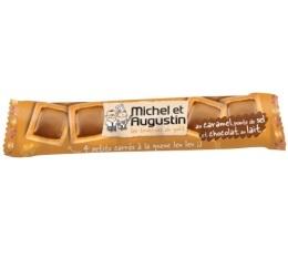 4 petits carr�s au Caramel, pointe de sel et chocolat au lait - Michel et Augustin