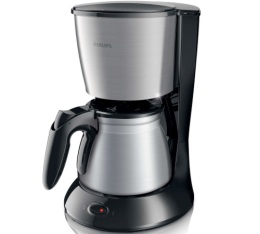 Cafeti�re filtre Philips Daily Collection inox HD7469/20 + offre cadeaux