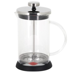 Cafetière à Piston New Spezia en verre borosilicate - 80 cl - Oroley