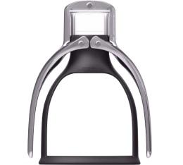 ROK Espresso machine noire et chrome