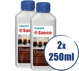 Lot de 2 D�tartrants Saeco CA6700 pour machine expresso - 2 x 250ml