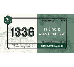Thé noir Anis Réglisse 1336 (Scop TI) x 20 Mousselines
