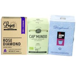 S�lection d�couverte 30 capsules compatibles Nespresso