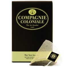 Th� Vert Sencha Compagnie Coloniale x 25 Berlingo�