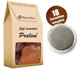 Café dosettes souples aromatisé Praliné x 18