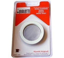 Set Bialetti 3 joints + 1 filtre pour cafeti�re ALU 12 tasses