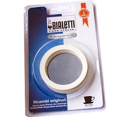 Set Bialetti 3 joints + 1 filtre pour cafeti�re INOX  4 tasses