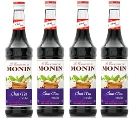 Sirop Monin - Thé Chaï - 4x70cl
