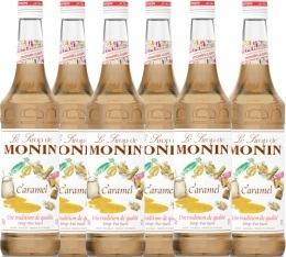 6 x Sirop Monin - caramel - 70cl