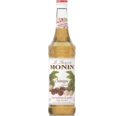 Sirop Monin - Châtaigne - 70cl