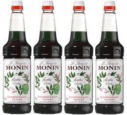 4 x Sirop Monin - Menthe - 1L