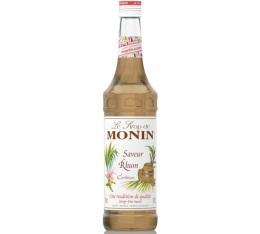 Sirop Monin - Saveur Rhum - 70 cl