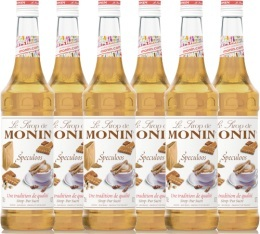 6 x Sirop Monin - Sp�culoos 70 cl
