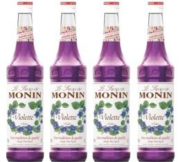 Sirop Monin - Violette - 4x70cl
