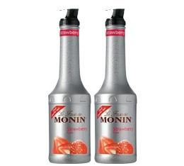 Smoothie Fruit de Monin Fraise - 2x1L