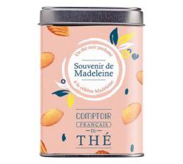 Souvenirs de Madeleine boite métal 80g - Comptoir Français du Thé