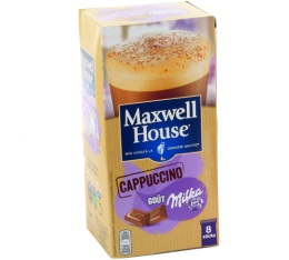 Maxwell House Cappuccino Milka 8 sticks