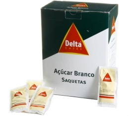 Sucre  blanc en buchettes 5 � 7g x 170 (environ) - Delta Caf� - 1 kg