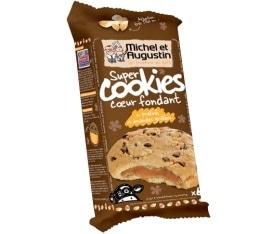Super cookies coeur fondant pralin� / Amandes grill�es (x6) - Michel et Augustin