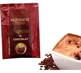 Chocolat   italien en poudre Supr�me Chocolat Monbana - 10 doses