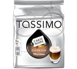 Dosette Tassimo Carte Noire Espresso Macchiato - 8 T-Discs