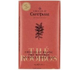 Tablette chocolat blanc au Rooibos Vanille - 85gr - Caf� Tasse