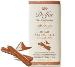 Chocolat au Lait Cannelle de Ceylan - 70g- Dolfin