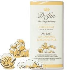 Chocolat au Lait Caramel et Beurre salé - 70g- Dolfin