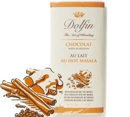 Chocolat au Lait Hot Masala - 70g- Dolfin