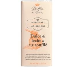 Chocolat Lait Dulce de leche et riz souffl� - 70g - Dolfin