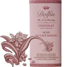 Chocolat Noir 60% au caf� moulu - 70g- Dolfin