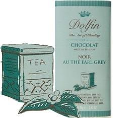 Chocolat Noir 60% Th� Earl Grey - 70g- Dolfin